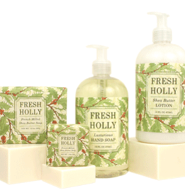 Greenwich Bay Trading Co. Square Bar Soap, Fresh Holly