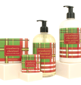 Greenwich Bay Trading Co. Square Bar Soap, Cranberry Chestnut