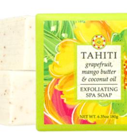 Greenwich Bay Trading Co. Square Bar Soap, Tahiti