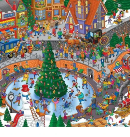 Springbok Puzzles Puzzle, Holiday Havoc