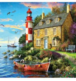 Springbok Puzzles Puzzle, Cottage Lighthouse