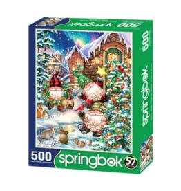 Springbok Puzzles Puzzle, Gnome Village