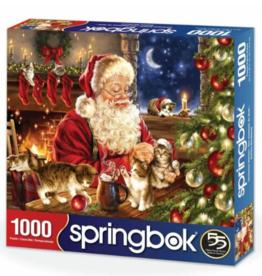 Springbok Puzzles Puzzle, Christmas Kittens