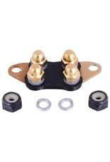 E-Collar Technologies Comfort Pad HA (Brass)- Small and Large Receiver, Short Contact Points