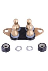 E-Collar Technologies Comfort Pad HA (Brass) - Small and Large Receiver, Long Contact Points