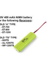 E-Collar Technologies NiMH Battery 4.8V 400 mAH