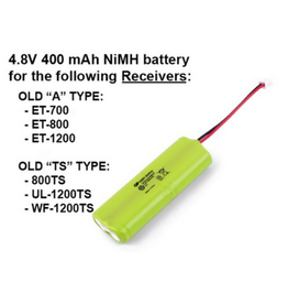 E-Collar Technologies NiMH Battery 4.8V 400 mAH