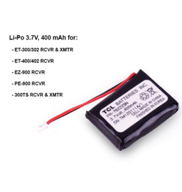E-Collar Technologies Li-Po Battery 3.7V 400 mAH