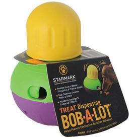 Starmark Bob-A-Lot Interactive Dog Toy (Small)