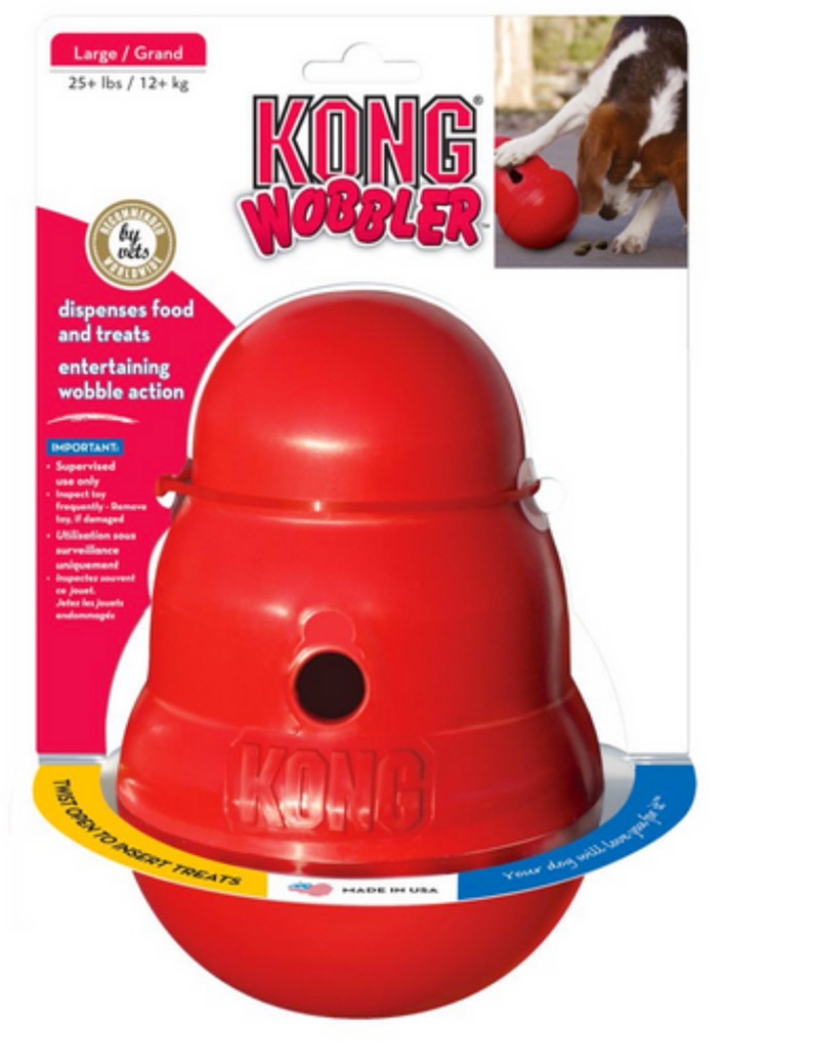 Kong KONG® Wobbler™Treat Dispenser Dog Toy