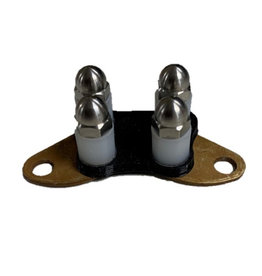 E-Collar Technologies Comfort Pad TITANIUM - Long Contact Points