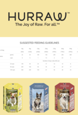 Hurraw Dehydrated Raw Dog Food Fish