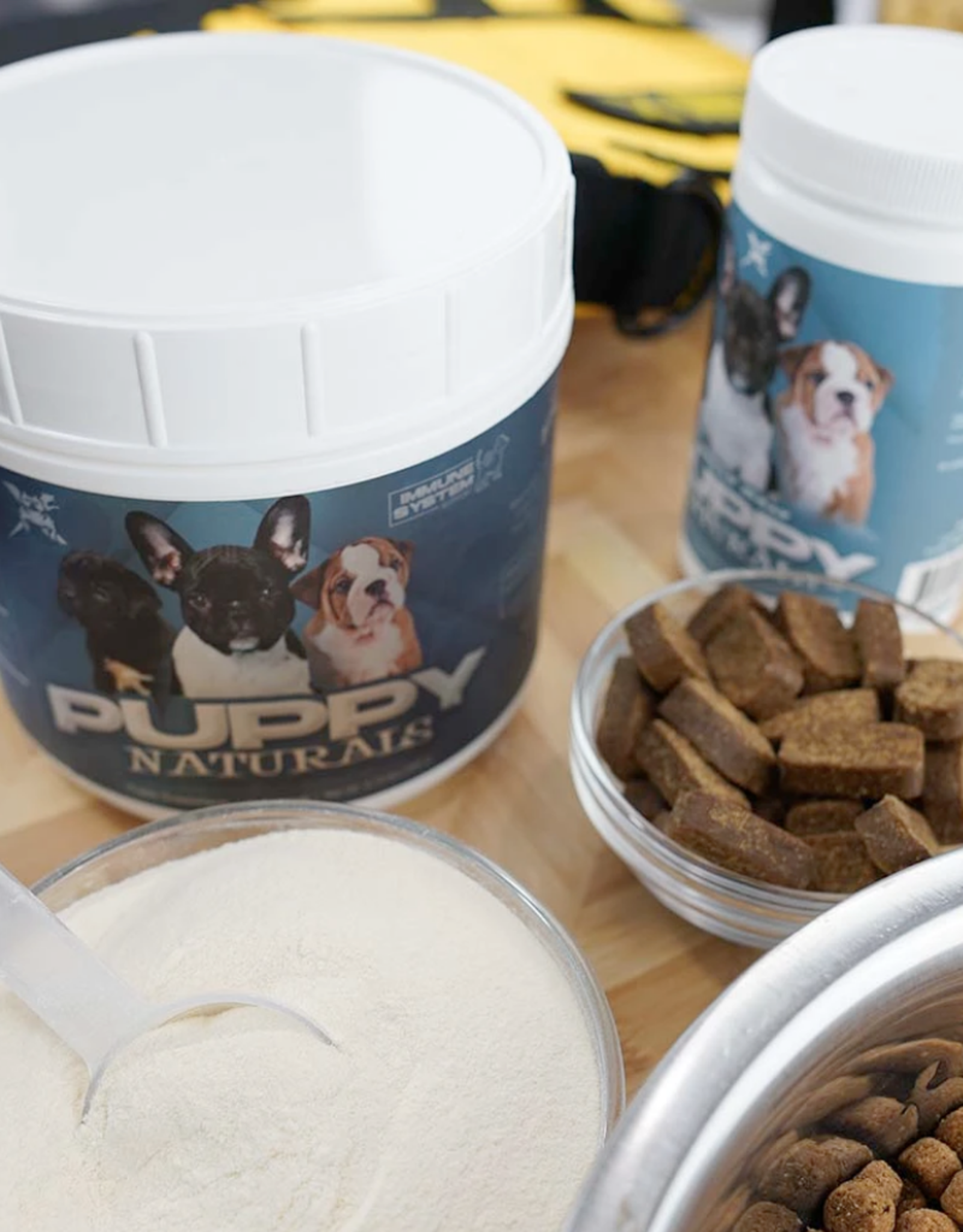 MVP K9 Puppy Naturals Puppy Formula Stack, (2 Items)- 60 Servings