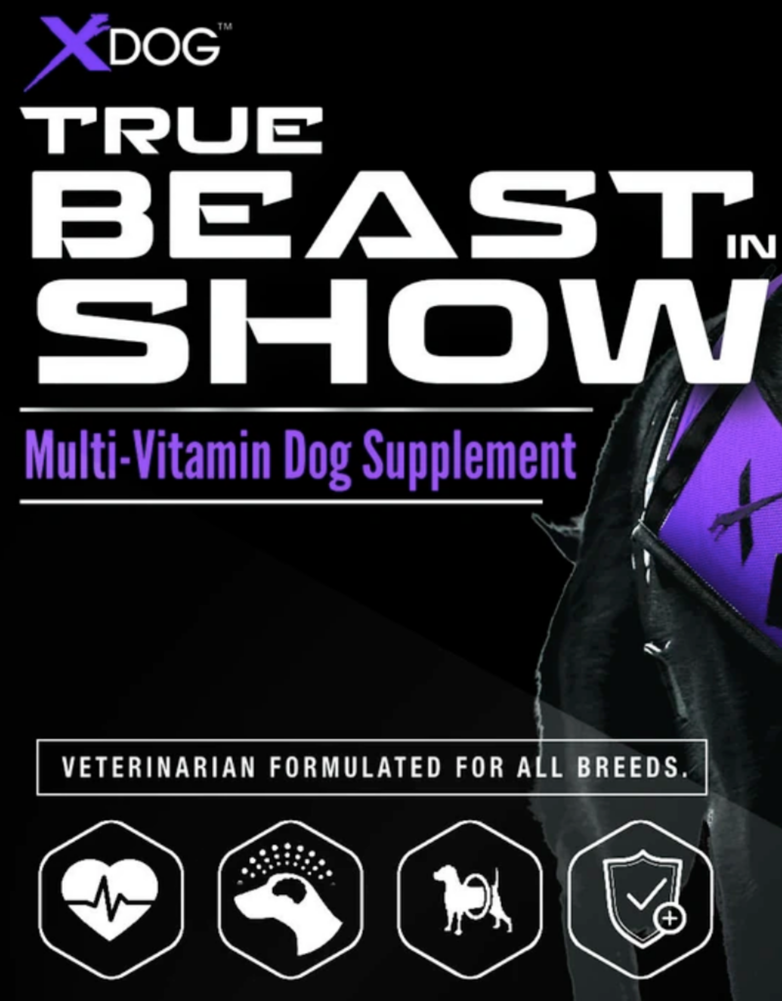 MVP K9 True Beast in Show Vitamins (90 Tablets)