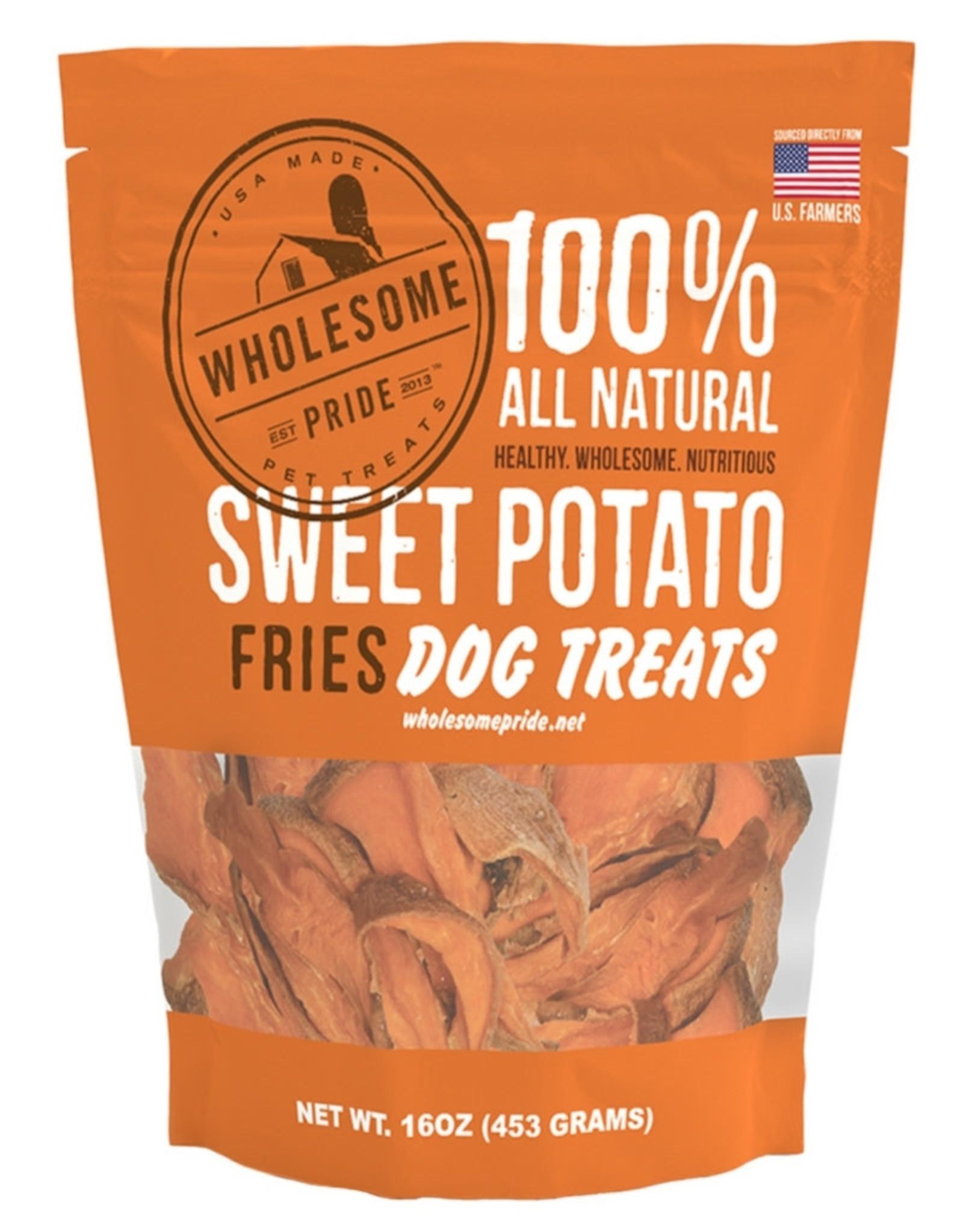 Wholesome Pride Sweet Potato Fries XMAS Dog Treats