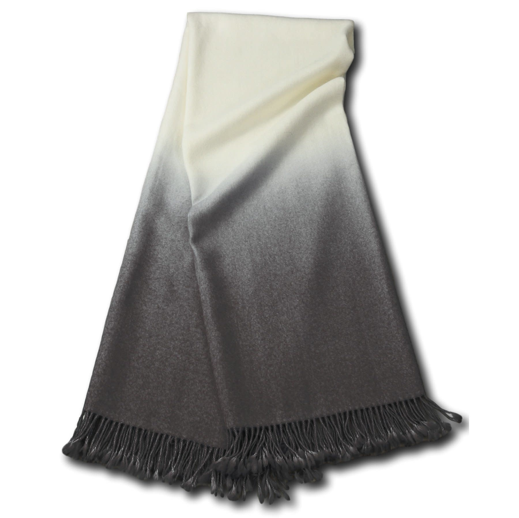 Dip-Dyed Throw {Pewter}