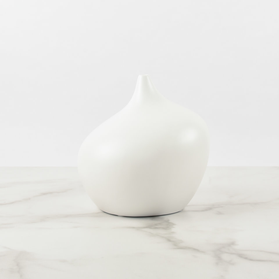 Ceramic Vase White No. 1