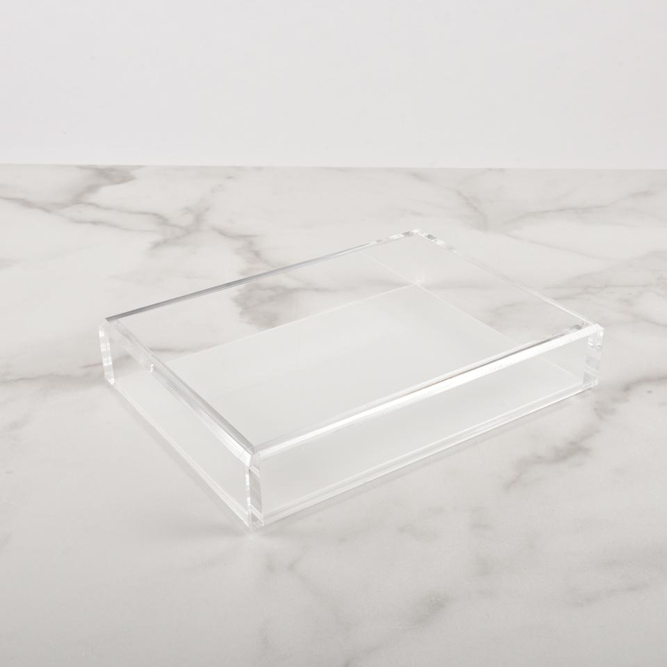 Medium Acrylic Tray White