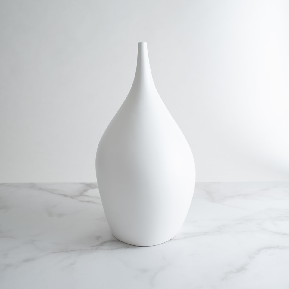 Ceramic Vase White No. 2