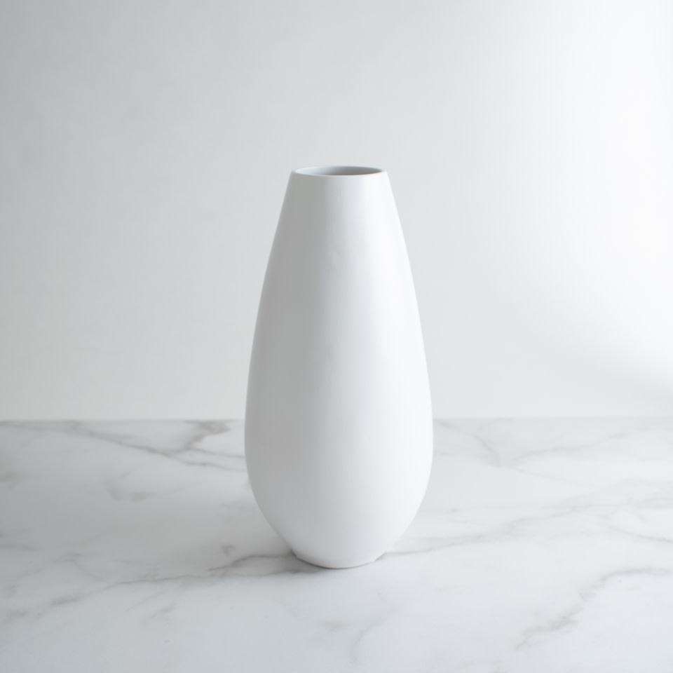 Ceramic Vase White No. 3
