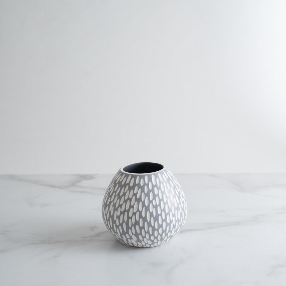 Ceramic Flower Vase Dash Fini