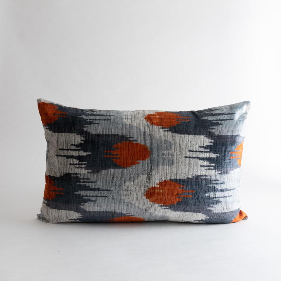 Bolide Silk + Velvet Lumbar Pillow Cover