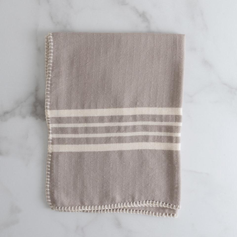 Farmhouse Kitchen Towel {Taupe}