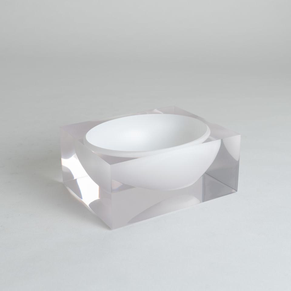 Acrylic Bowl White