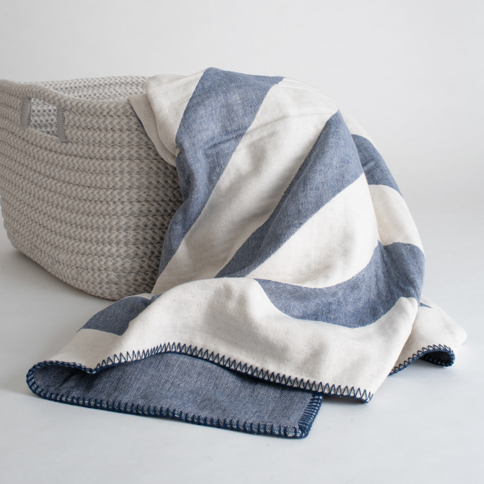 Lagom Throw Indigo