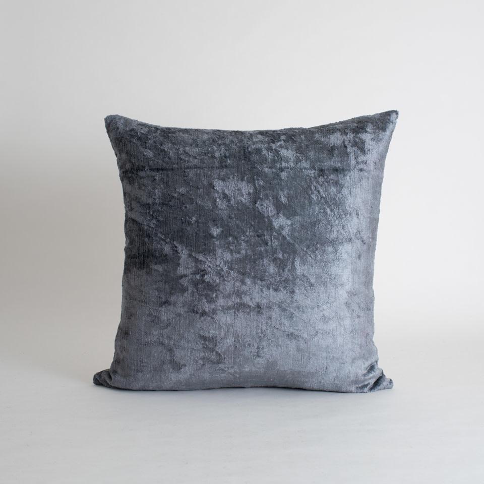 """Cape Silk + Velvet 20"""" Pillow Cover"""