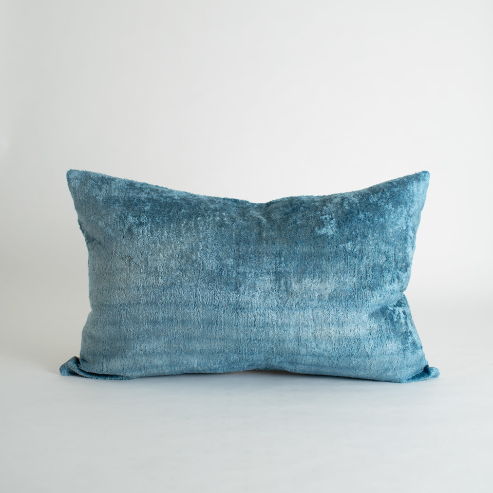 Coast Silk + Velvet Lumbar Pillow Cover