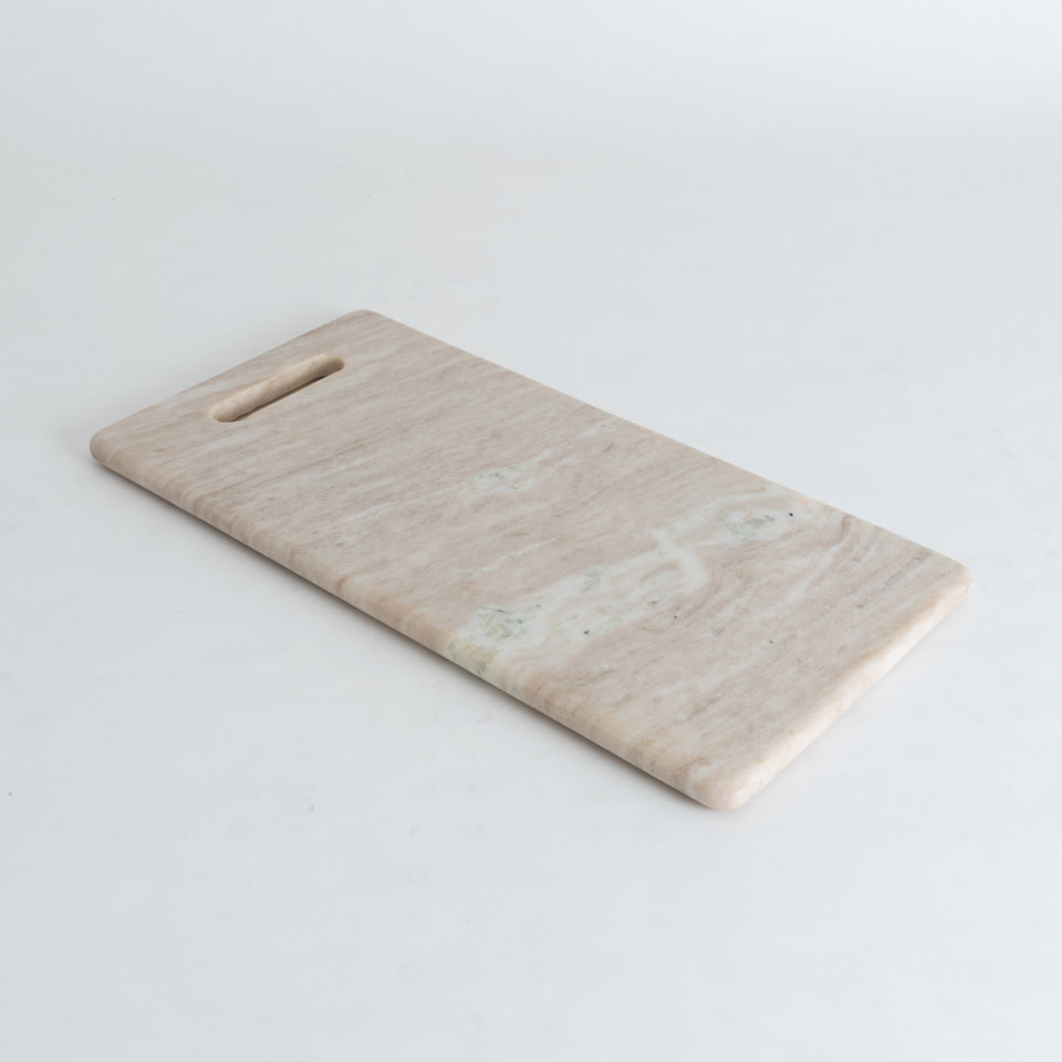Marble Cutting Board {Natural Ivory}