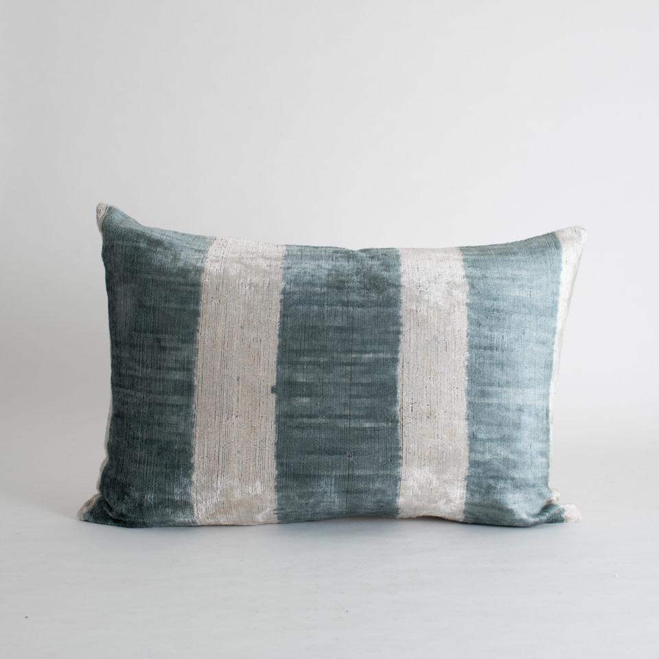 Hammer Silk + Velvet Lumbar Pillow Cover