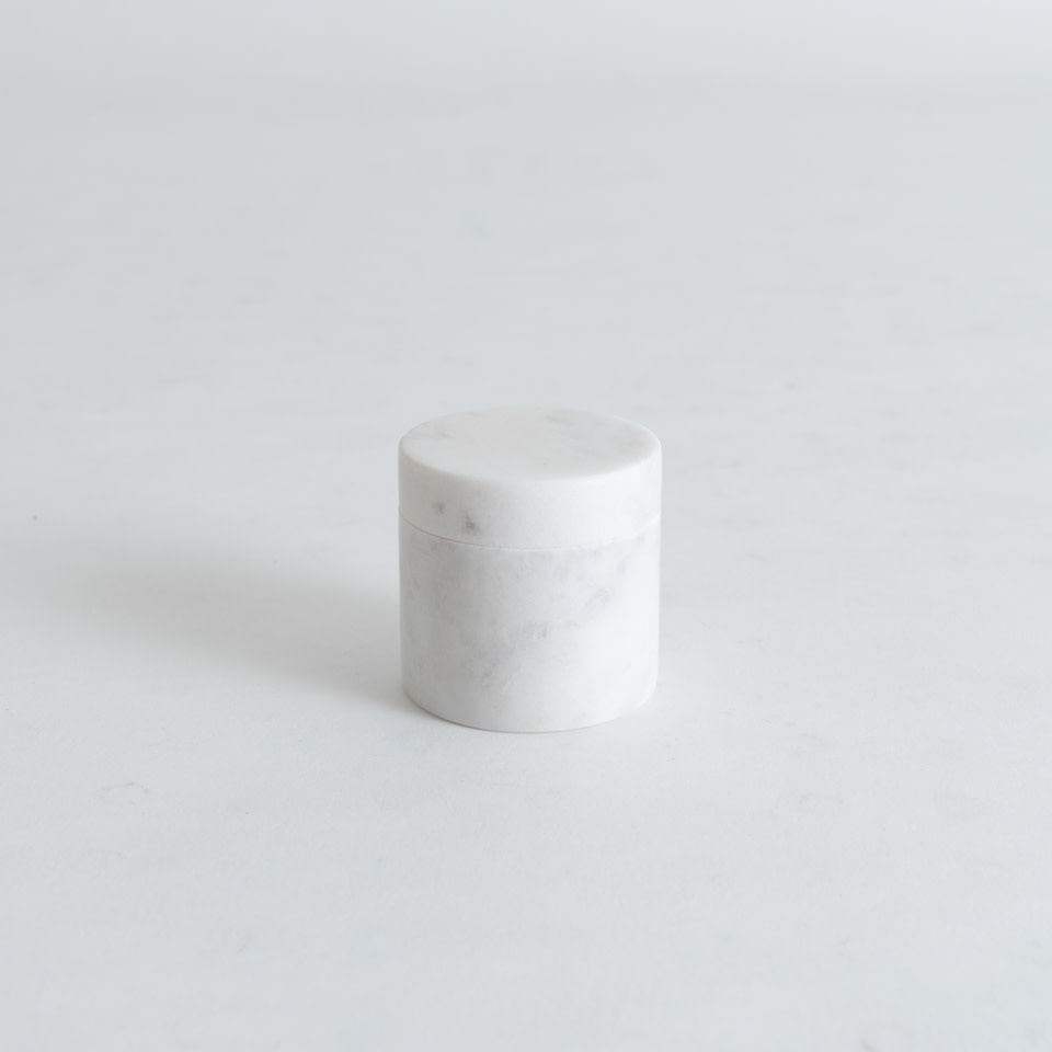 "Marble 2"" Pill Box {Round}"