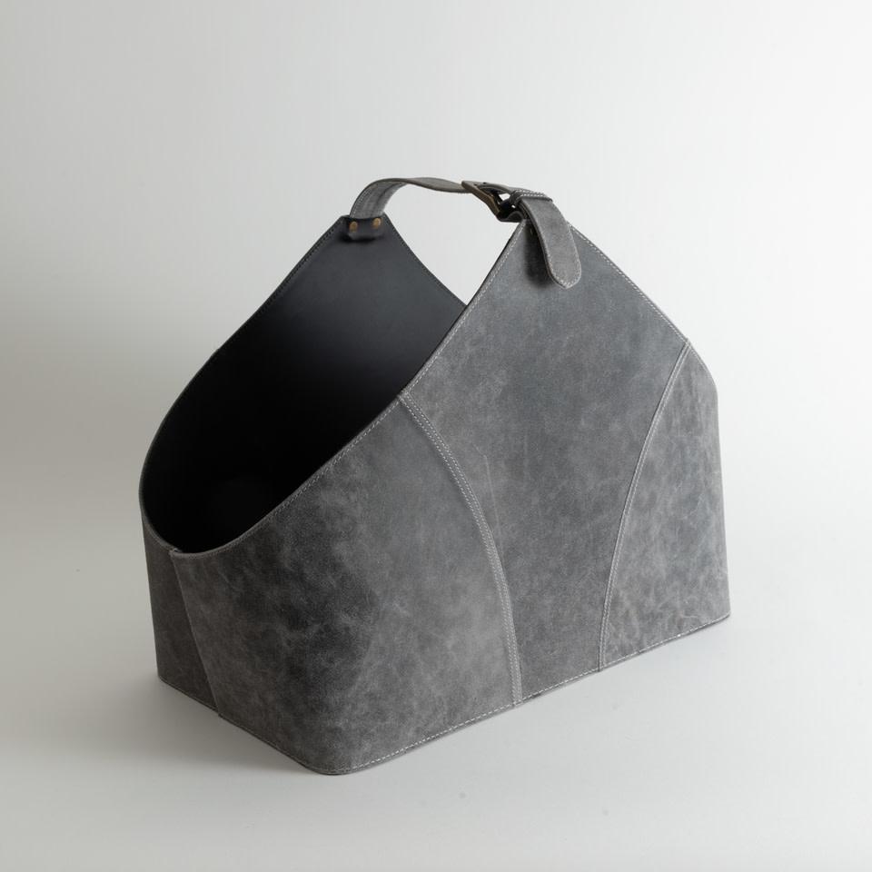 Vintage Grey Basket