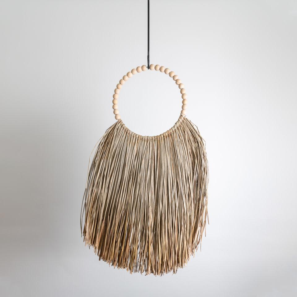 Natural Long Grass Necklace