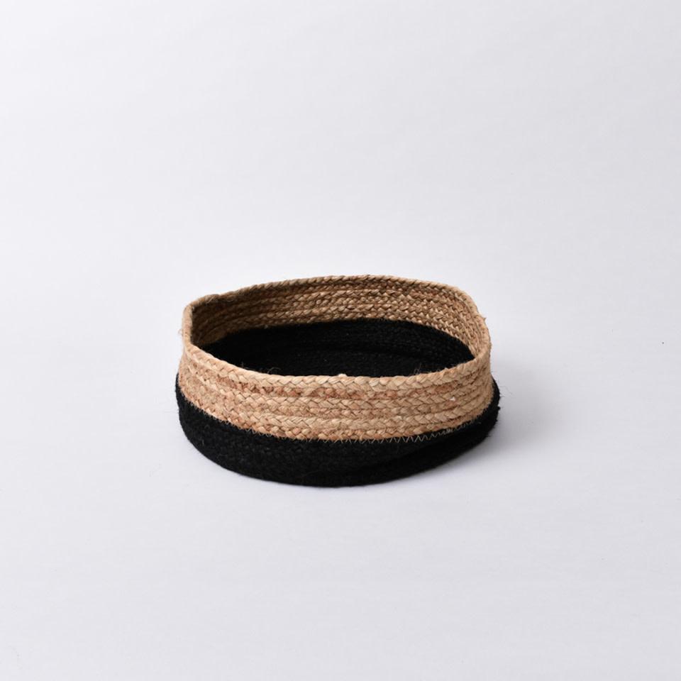 Round Natural Jute Basket
