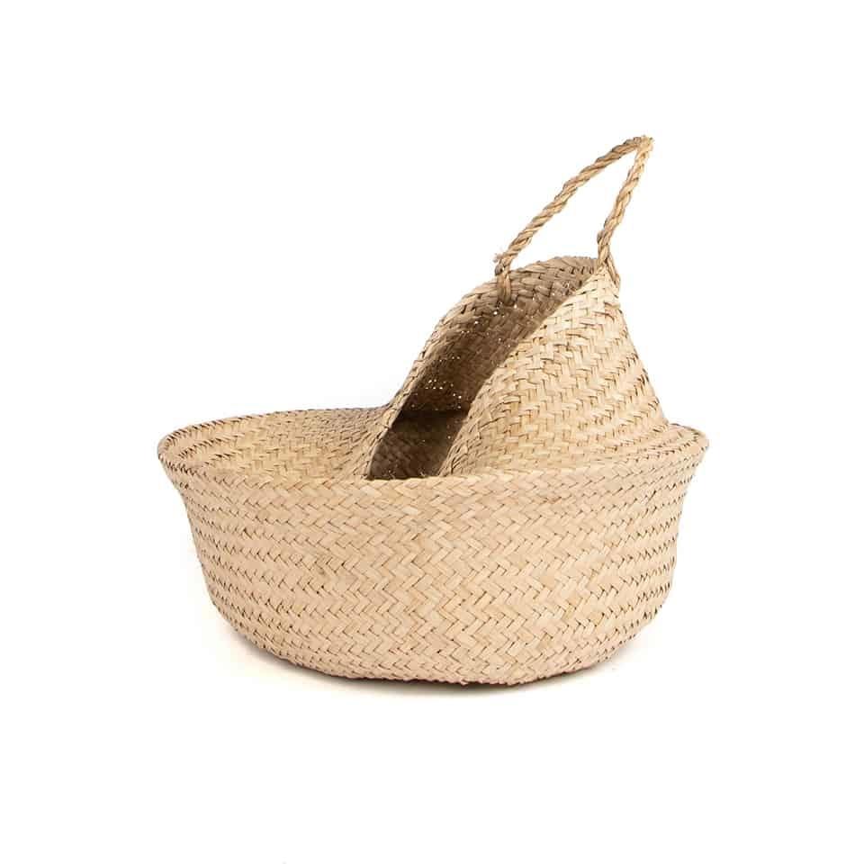 Seagrass Convertible Basket (Natural)