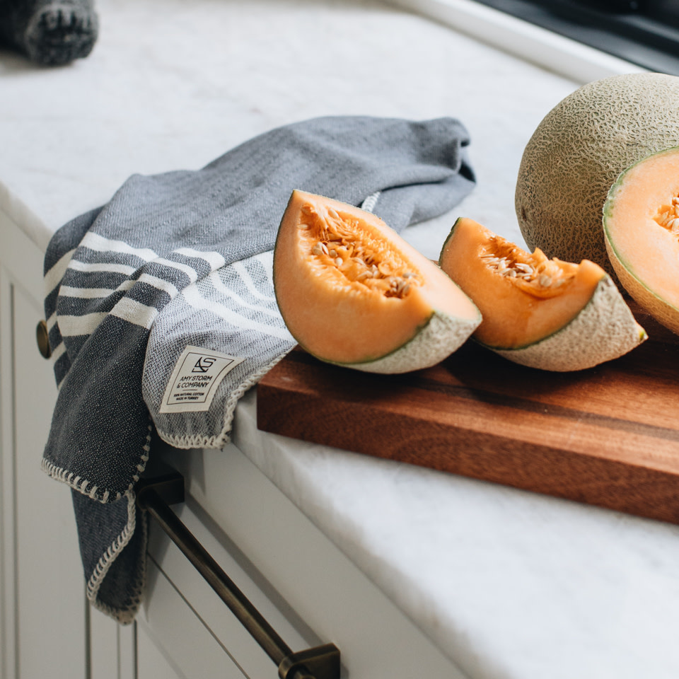 Farmhouse Kitchen Towel {Cast Iron}