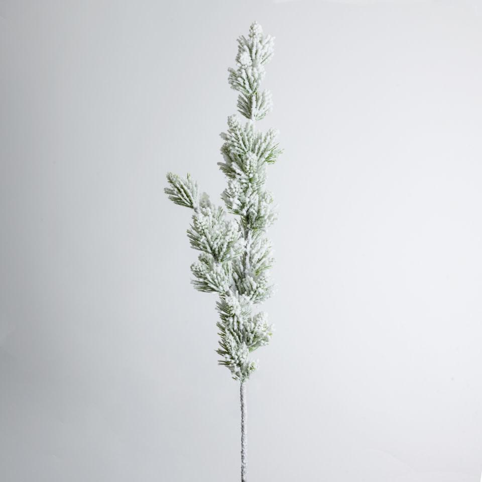 """35"""" Snowy Pine Spray"""