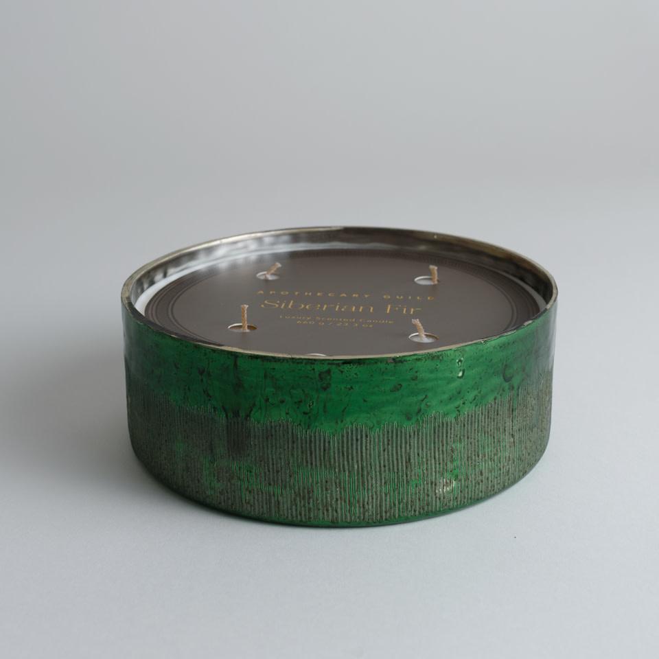 Antique Green Siberian Fir 23oz 4-Wick Candle