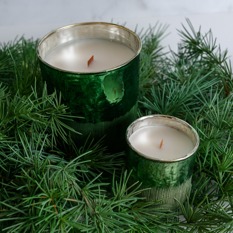 Antique Green Siberian Fir 21oz Candle