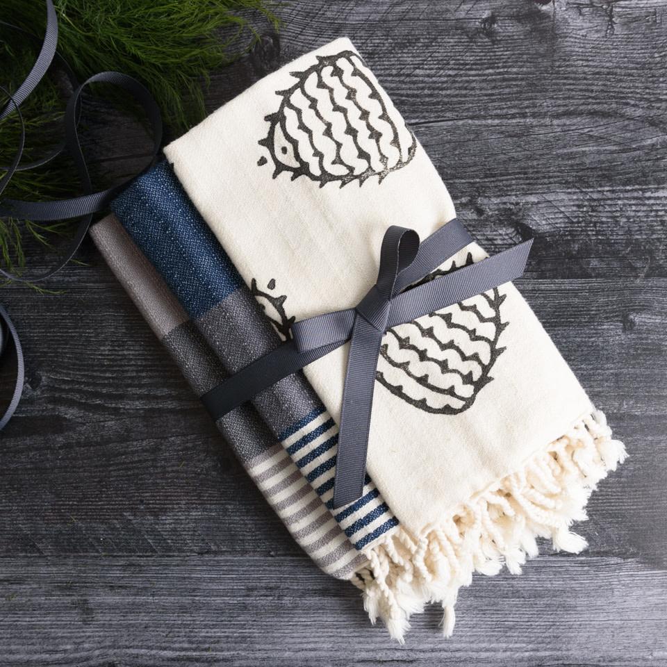 Block Print Napkin Guest Towel