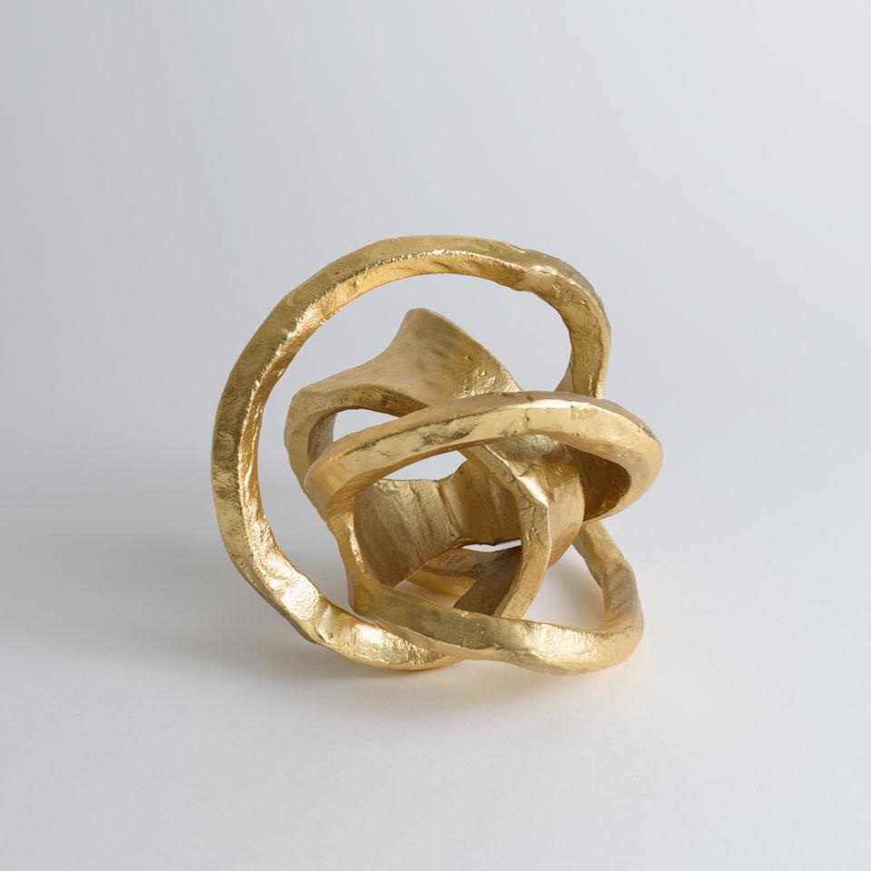 Metal Knot {Gold}