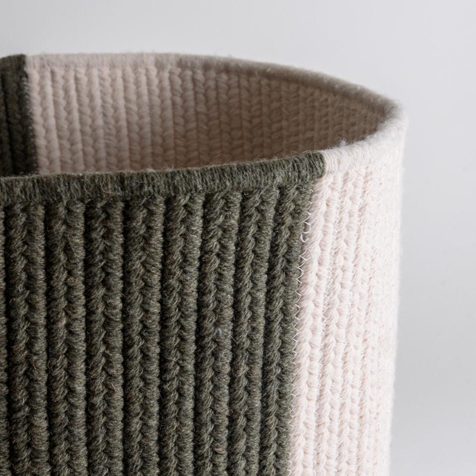 Thayer Moss Balance Wool Basket