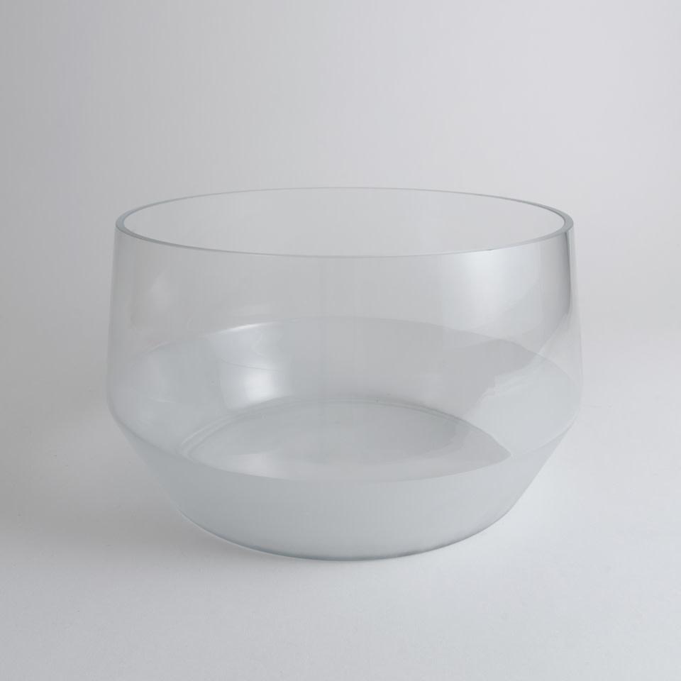 Morandi Frost Glass Punch Bowl