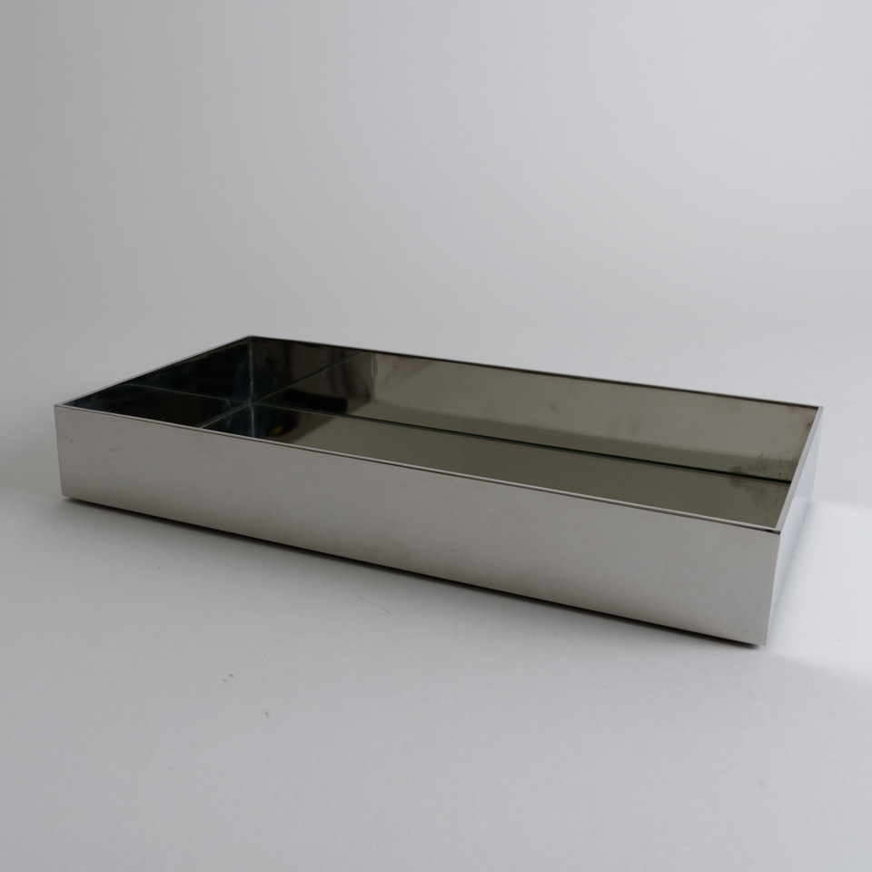 Polished Nickel Vanity Tray