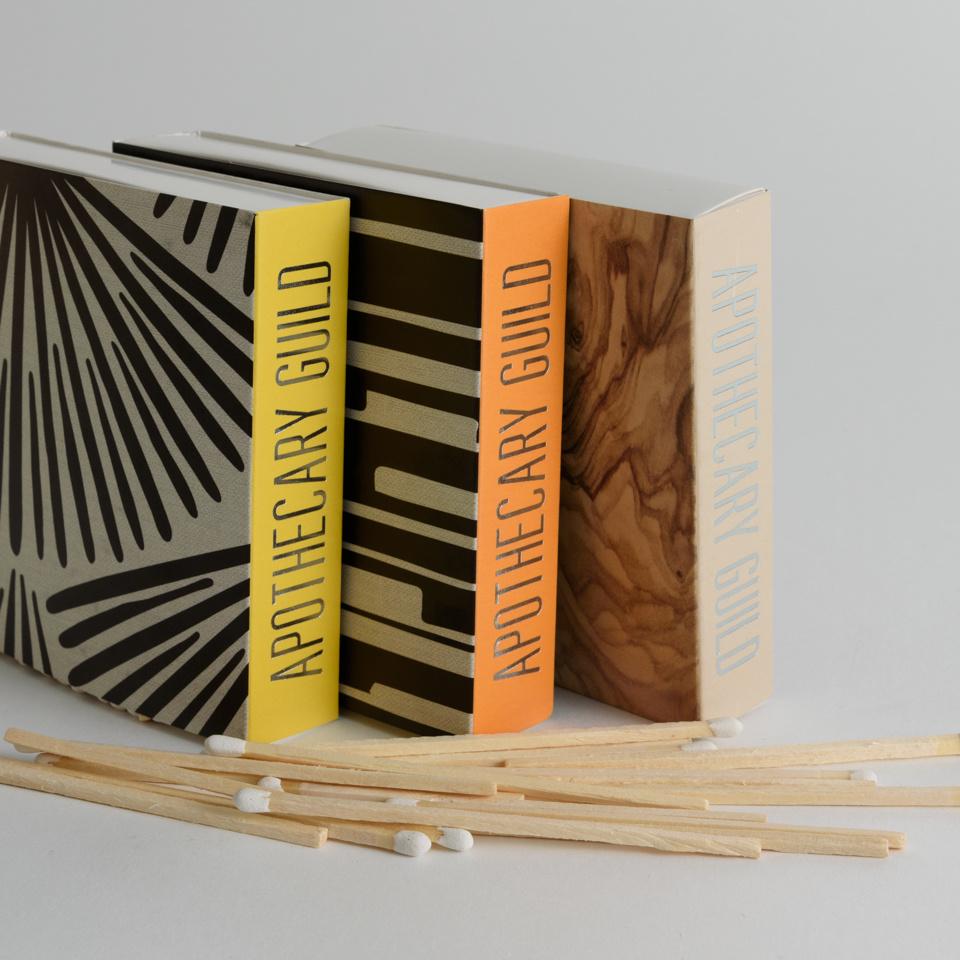 Apothecary Guild Match Box - Black Wall