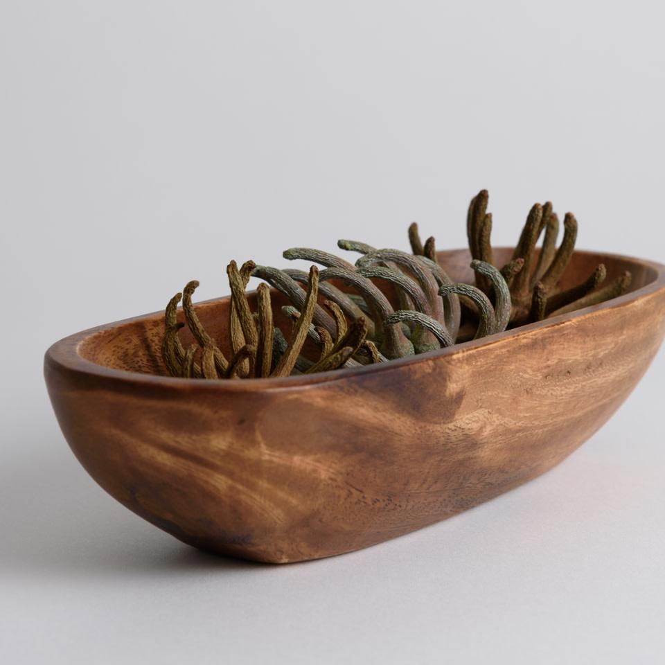 Acacia Oval Bowl