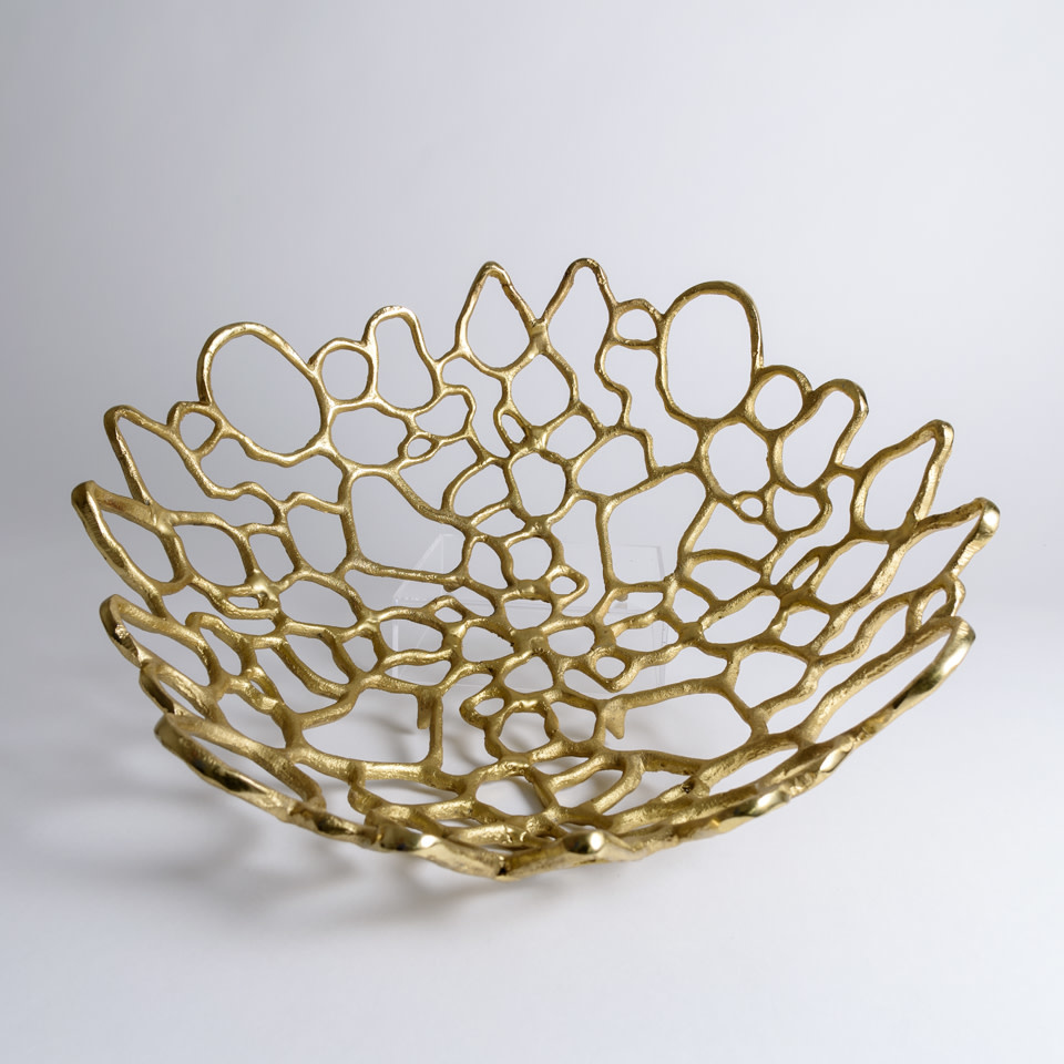 Venice Gold Bowl
